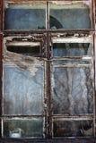 Vieille fenêtre intéressante Photo libre de droits