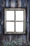 Vieille fenêtre rampante photographie stock