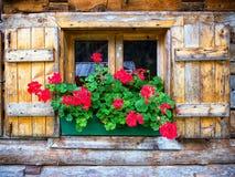 Vieille fenêtre Photo stock