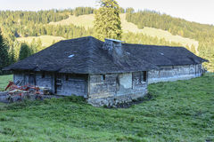Vieille ferme de montagne Photos libres de droits