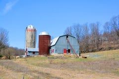 Vieille ferme de premier ressort Photo libre de droits