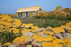Vieille ferme en pierre Photo libre de droits