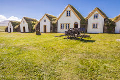 Vieille ferme islandaise traditionnelle - Glaumber Image libre de droits