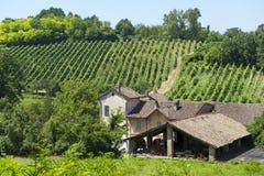 Vieille ferme typique dans l'Oltrepo Pavese Photos libres de droits