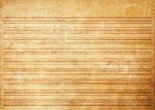 Vieille feuille de musique grunge de papier Image stock