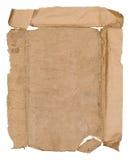 Vieille feuille de papier Photographie stock libre de droits