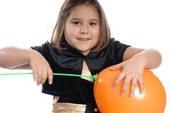 Vieille fille de cinq ans Photographie stock