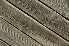 Vieille fin en bois de fond Image libre de droits
