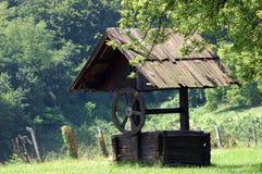 Vieille fontaine Image libre de droits