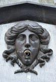 Vieille fontaine antique de style Image libre de droits