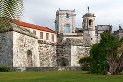 Vieille forteresse à La Havane Photographie stock libre de droits