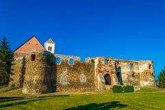 Vieille forteresse, attraction touristique près de Pozega Croatie 15ème à la région du 16ème siècle de la Slavonie Images stock