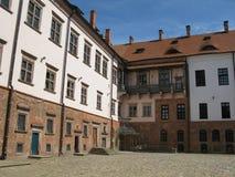 Vieille forteresse au Belarus Image libre de droits