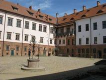 Vieille forteresse au Belarus Photographie stock