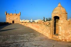 Vieille forteresse d'Essaouira Image stock