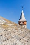 Vieille forteresse dans Kamyanets-Podolsky Image stock