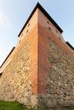Vieille forteresse dans la ville de Lida Image libre de droits