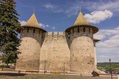 Vieille forteresse dans Soroca, rivière de Nistru, Moldau Photo libre de droits