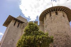 Vieille forteresse dans Soroca, rivière de Nistru, Moldau Photos libres de droits