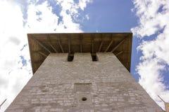 Vieille forteresse dans Soroca, rivière de Nistru, Moldau Image libre de droits