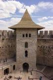 Vieille forteresse dans Soroca, rivière de Nistru, Moldau Images libres de droits