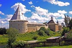 Vieille forteresse de Ladoga en Russie Photographie stock libre de droits
