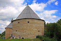 Vieille forteresse de Ladoga en Russie Image libre de droits