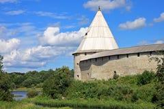 Vieille forteresse de Ladoga en Russie Image stock