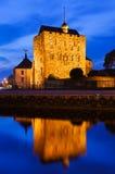 Vieille forteresse en Bergen Norway image libre de droits