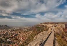 Vieille forteresse Ovech Image libre de droits