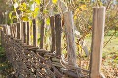 Vieille frontière de sécurité Photo stock