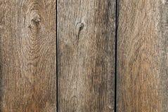 Vieille frontière de sécurité en bois fond en bois de palissade Texture de planches Images libres de droits