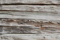 Vieille frontière de sécurité en bois fond en bois de palissade Texture de planches Photos libres de droits