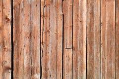Vieille frontière de sécurité en bois Photographie stock