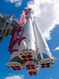 Vieille fusée soviétique Photo stock