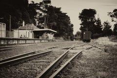 Vieille gare ferroviaire Photographie stock libre de droits