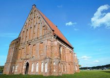 Vieille église gothique Photo stock