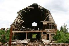 Vieille grange abandonnée Images stock