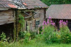 Vieille grange abandonnée Image stock