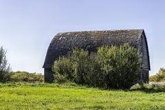 Vieille grange abandonnée Images libres de droits