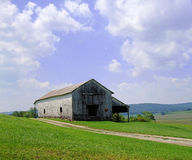 Vieille grange au Kentucky Photographie stock