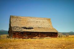 Vieille grange au Montana photos libres de droits