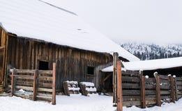Vieille grange de foin Image stock