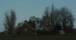 Vieille grange du YE Image stock
