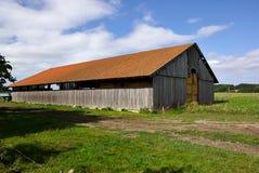 Vieille grange en bois Photos stock