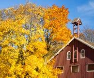 Vieille grange en bois photo stock