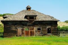 Vieille grange en bois Photo libre de droits