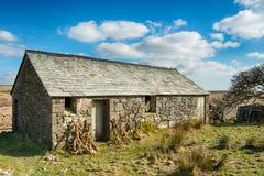 Vieille grange en pierre Photos libres de droits