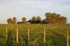 Vieille grange rouge 2 Photos libres de droits