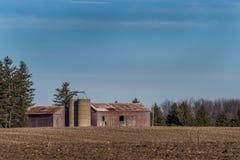 Vieille grange rurale Photographie stock